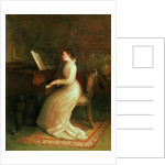 Lady at the Piano by Joseph Farquharson