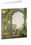 Classical ruins by Giovanni Paolo Pannini or Panini