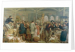 Billingsgate Fish Market by George Elgar Hicks