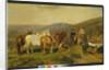 In the Malvern Hills by Friedrich Wilhelm Keyl