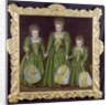 The Egerton Sisters, 1601/02 by English School
