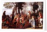 John the Baptist Preaching by Frans the Elder Francken
