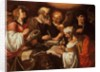 The Four Evangelists and their symbols by Pieter Lastman