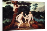 Adam and Eve in the Garden of Eden by Lucas Cranach
