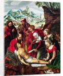 The Deposition, 16th century by Bernard van Orley