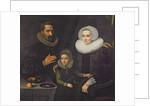 Family Portrait by Dirck Santvoort