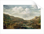 Rhineland View, 17th century by Herman the Younger Saftleven