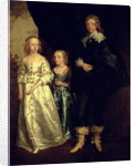 The Children of Thomas Wentworth, 1st Earl of Strafford, 17th century by Sir Anthony van Dyck