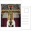 Crucifix, 1287-88 by Giovanni Cimabue