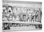 Poster advertising, 'The Barnum and Bailey Greatest Show on Earth, the World's Grandest, Largest, Best Amusement Institution' by American School