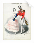 Jullien's Celebrated Polkas No.9: The Queen and Prince Albert's Polka by M. and N. Hanhart by English School