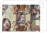 Sistine Chapel Ceiling: The Creation of Eve by Michelangelo Buonarroti