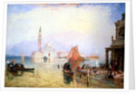 Venetian Scene, 19th century by James Baker Pyne