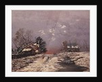 Winter Scene by Anonymous