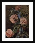 Roses, Convolvulus and Delphiniums by James Holland