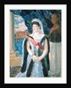 Portrait of the Grand Duchess Maria Pavlovna by Boris Mihajlovic Kustodiev