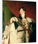 George IV by Sir Thomas Lawrence