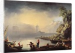 Harbour Scene by La Croix de Marseilles