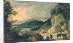 Mountain Landscape by Joos or Josse de