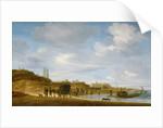 The Beach at Egmond-an-Zee by Salomon van Ruisdael or Ruysdael