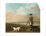 Sir John Nelthorpe, 6th Baronet out Shooting with his Dogs in Barton Field, Lincolnshire by George Stubbs