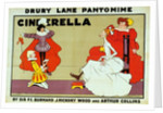 Poster for 'Cinderella' by Tom Browne