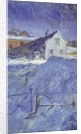 Winter at Silver Lodge by Christopher Glanville
