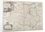 Map of Durham by Thomas Kitchin