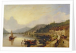 Lago d'Iseo, Italy by George Clarkson Stanfield