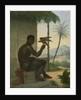 Brazilian negro with Tropical Bird by Nicolas Antoine Taunay
