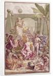 Frontispiece of 'Hortus Cliffortianus' by Carl Linnaeus by Jan Wandelaar