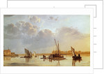 Boats on a River by Aelbert Cuyp