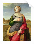 St. Catherine of Alexandria, 1507-8 by Raphael