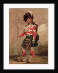 A Soldier of the 79th Highlanders at Chobham Camp by Eugene-Louis Lami