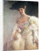 Portrait of a Lady in Evening Dress by Hugo-Elias Bachmanssen