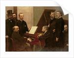 Around the Piano by Ignace Henri Jean Fantin-Latour