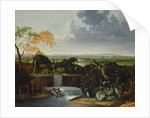 Extensive Landscape with a Watermill by Matthias Withoos