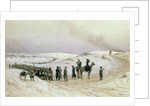 Bulgaria, a scene from the Russo-Turkish War of 1877-78 by Mikhail Georgievich Malyshev
