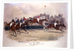 The Grand National, Over the Water by William Verner Longe