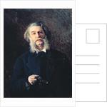 Portrait of Dmitri Vasilievich Grigorovich by Ivan Nikolaevich Kramskoy
