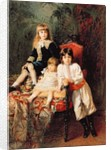 Mr. Balashov's Children by Konstantin Egorovich Makovsky