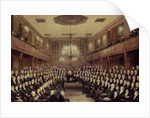 The House of Commons in Session by English School