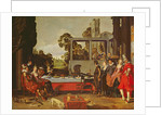 Merry company in the open air by Willem Pietersz Buytewech