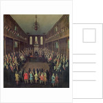 The House of Commons in Session by Peter Tillemans