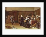 Dancing Party, 17th century by Pieter Codde