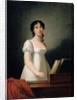 Portrait of Angelica Catalani by Elisabeth Louise Vigee-Lebrun