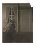 The Collector of Coins by Vilhelm Hammershoi