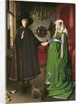 The Portrait of Giovanni Arnolfini and his Wife Giovanna Cenami 1434 by Jan van Eyck