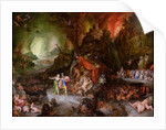 Aeneas and the Sibyl in the Underworld by Jan the Elder Brueghel