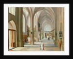 Church Interior by Hendrik van Steenwyck